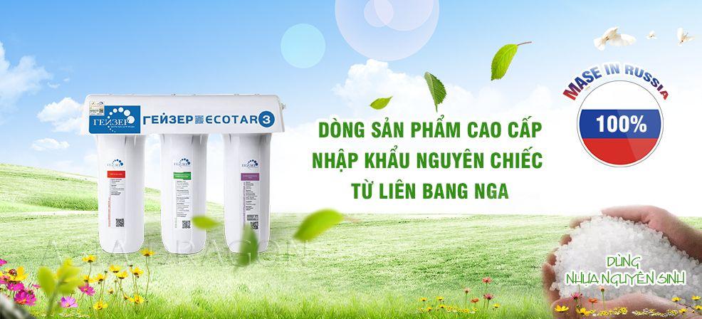 geyser ecotar3 san pham may loc cao cap nhap khau tu nga