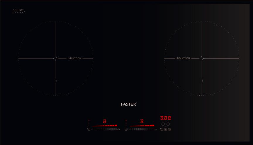 Bếp từ Faster FS 742G