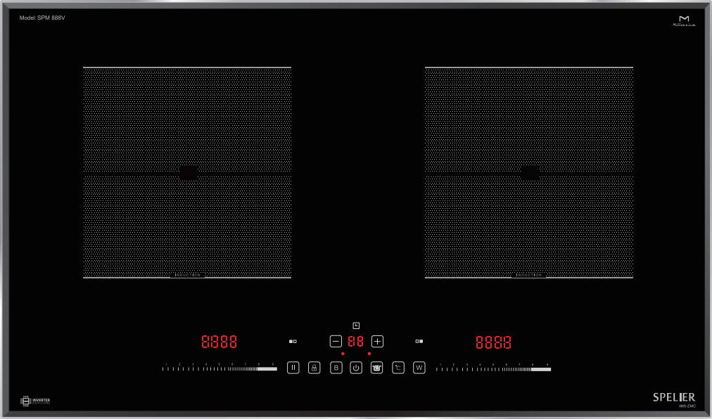Bếp từ Spelier SPM-888V