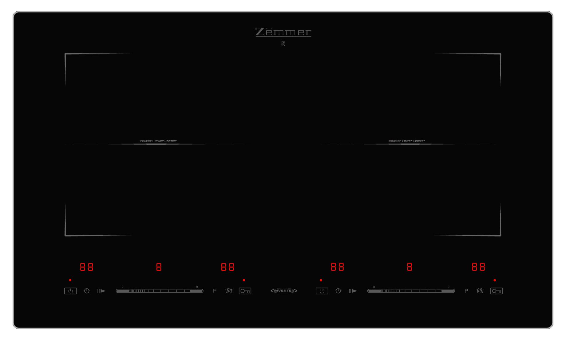Bếp từ Zemmer IH Z6902 A