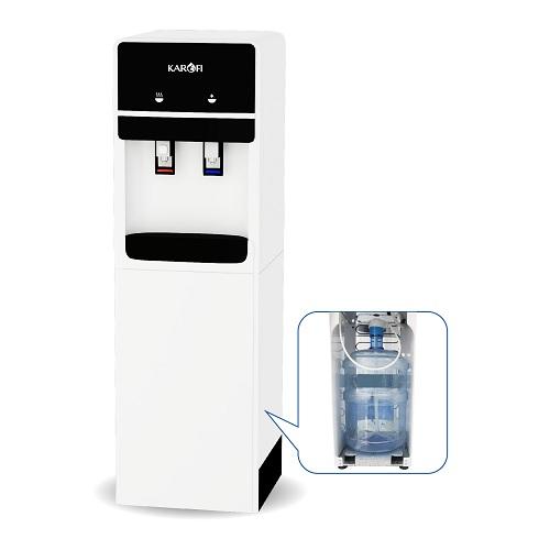 Cây nước nóng lạnh hút bình Karofi HC02-W